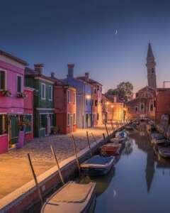 Venecia soñada en Burano