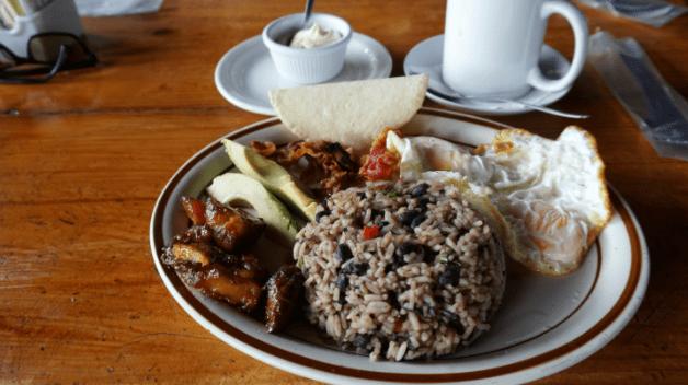 platos tipicos costa rica