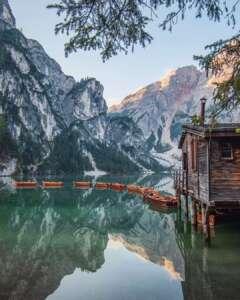 Lago Dolomitas Braies