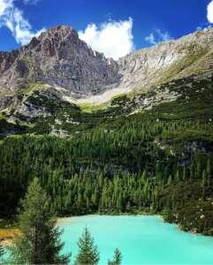 Sorapis los Dolomitas